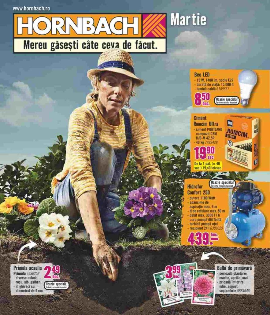 Catalog HORNBACH - 05 Martie 2019 - 01 Aprilie 2019