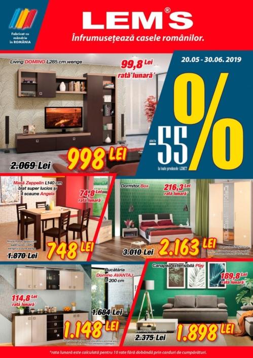 Catalog LEMS » 20 Mai 2019 - 30 Iunie 2019 « oferte noi