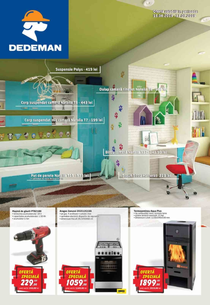 Catalog DEDEMAN - 15 August 2019 - 11 Septembrie 2019