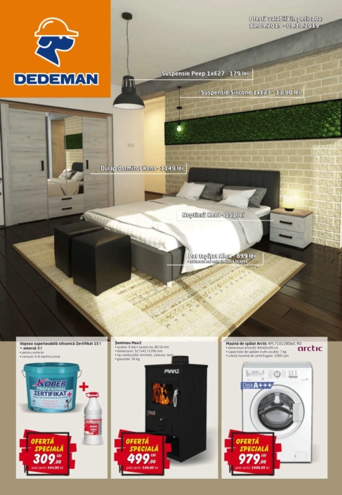 Catalog DEDEMAN - 12 Septembrie 2019 - 09 Octombrie 2019