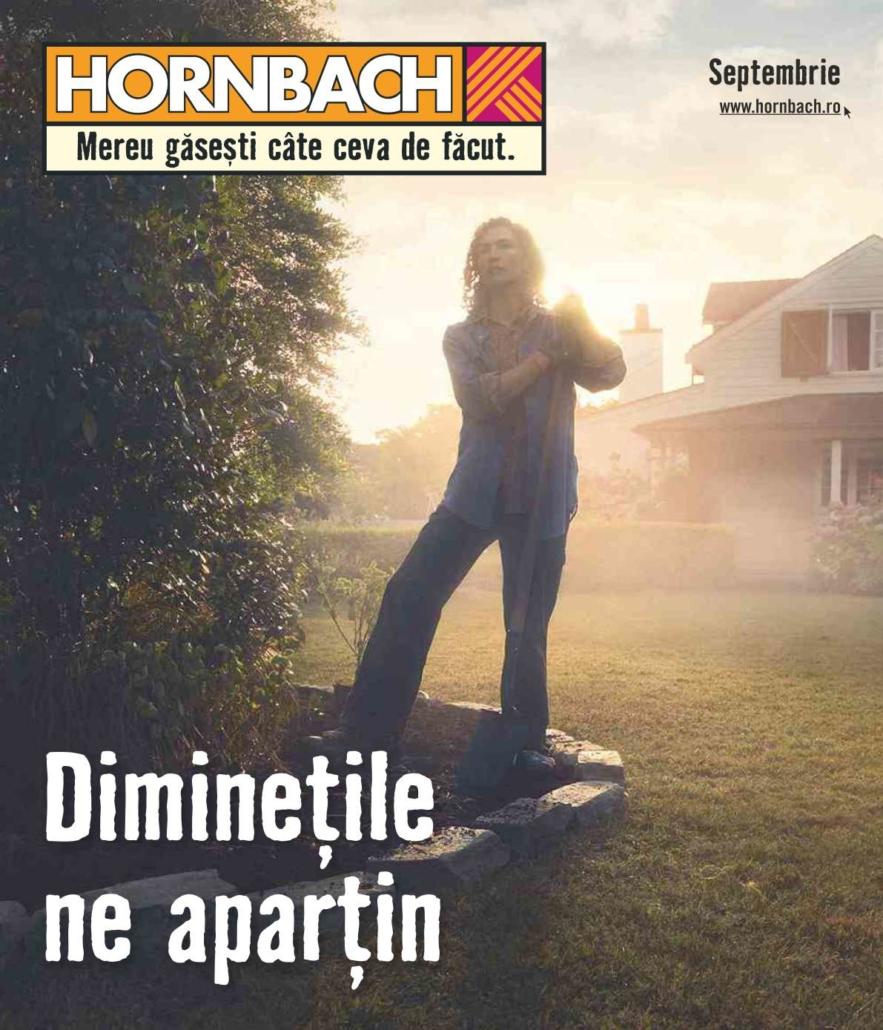 Catalog HORNBACH - 03 Septembrie 2019 - 30 Septembrie 2019