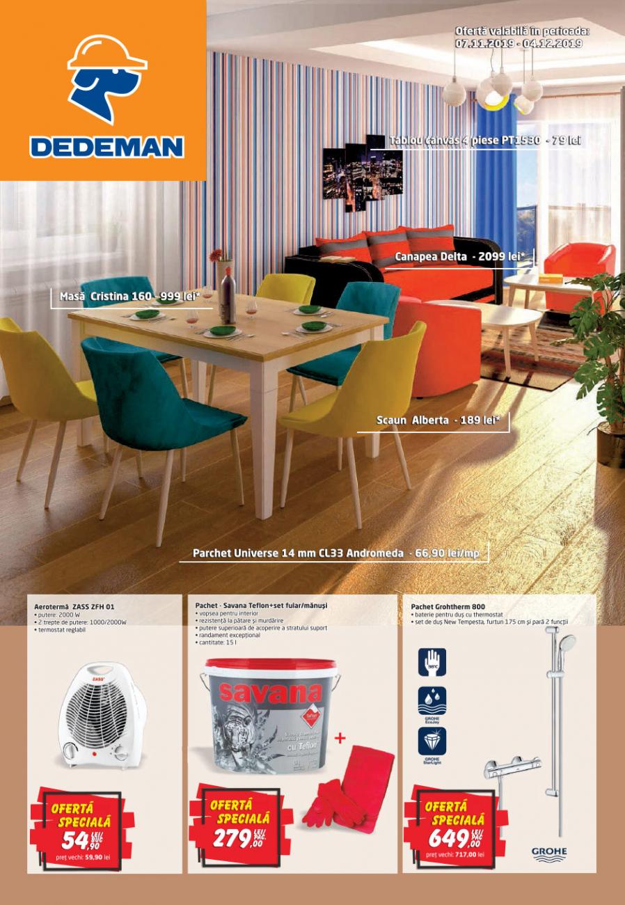Catalog DEDEMAN - 07 Noiembrie 2019 - 04 Decembrie 2019