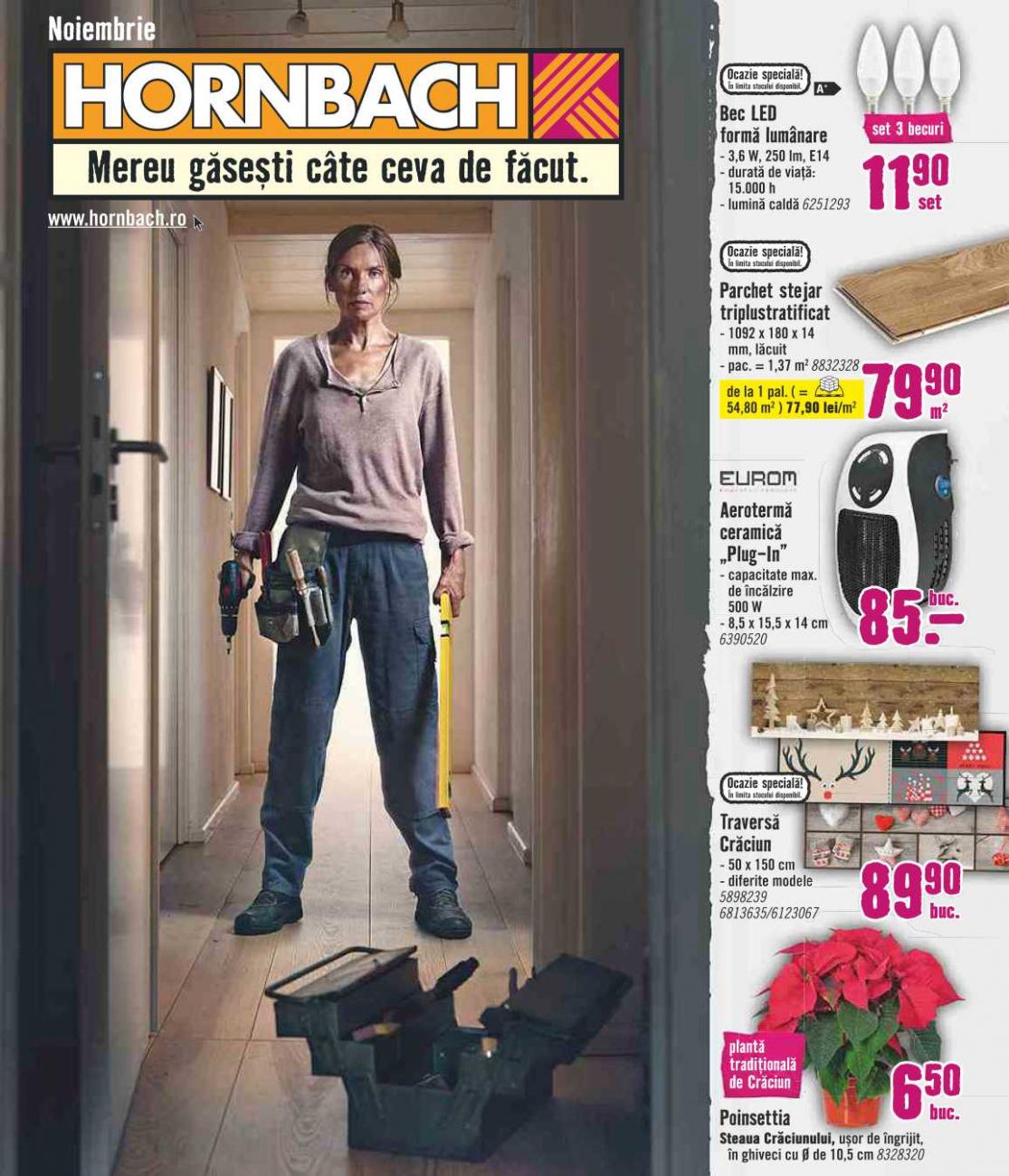 Catalog HORNBACH - 05 Noiembrie 2019 - 02 Decembrie 2019