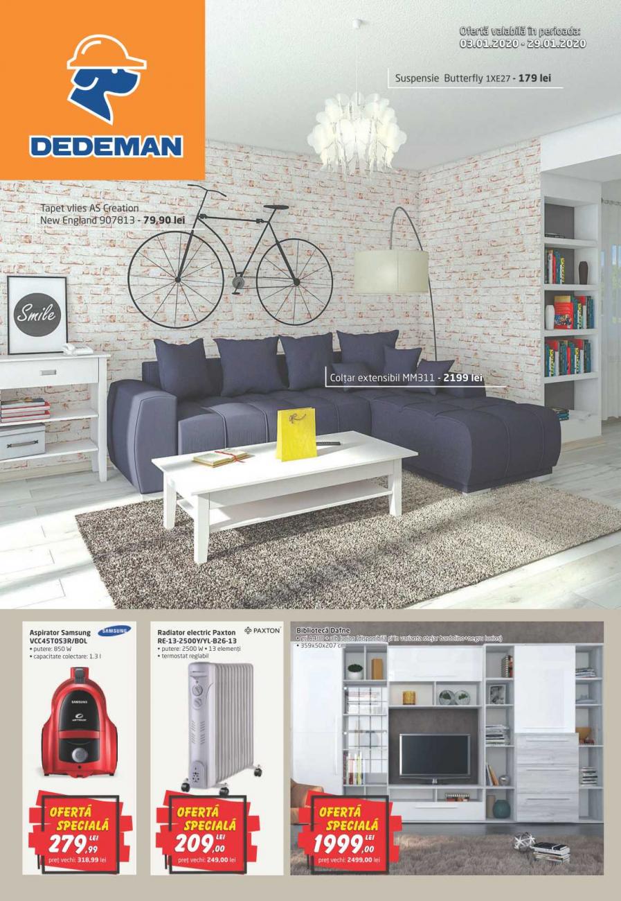 Catalog DEDEMAN - 03 Ianuarie 2020 - 29 Ianuarie 2020