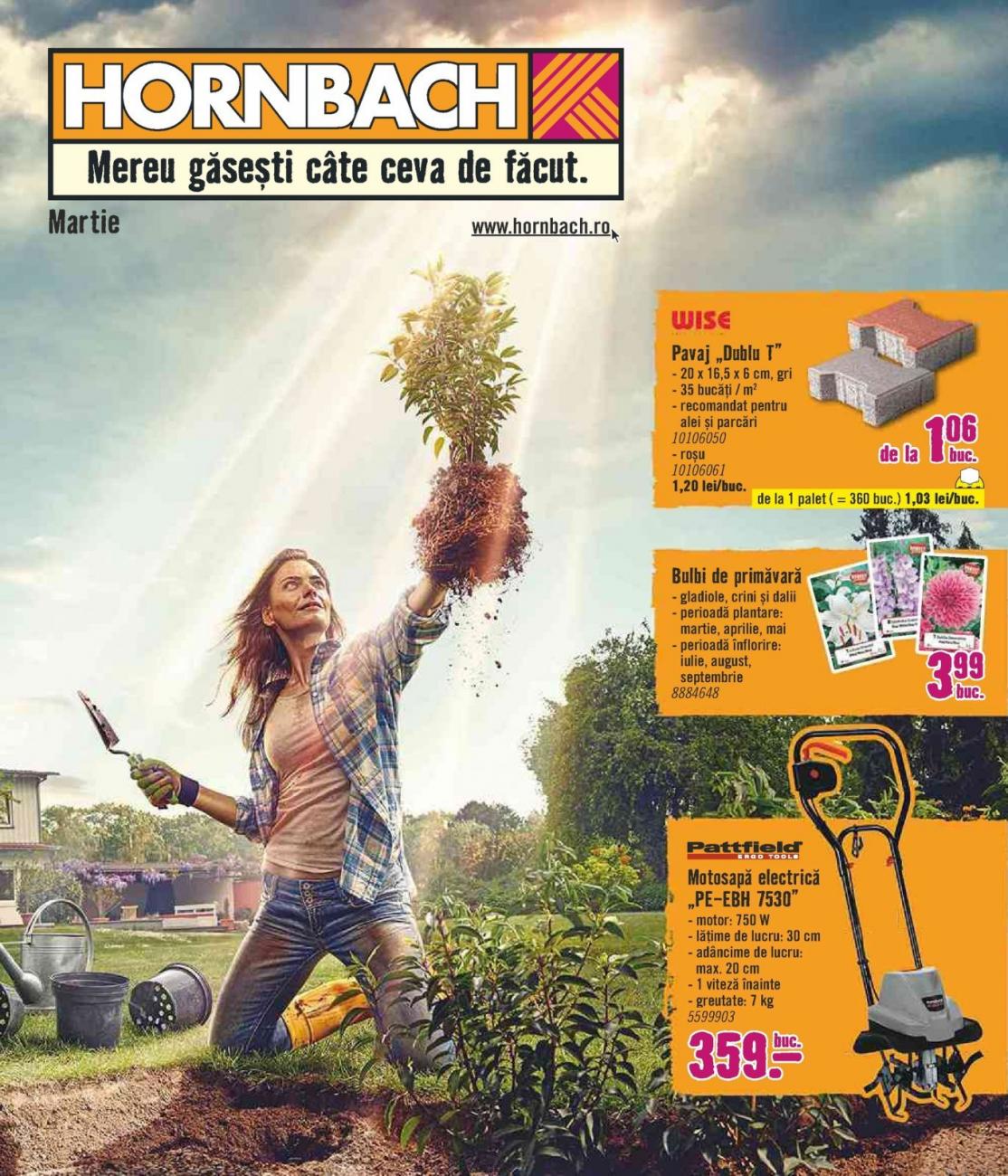 Catalog HORNBACH - 01 Martie 2020 - 31 Martie 2020